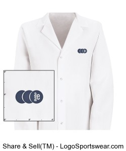 Unisex Lab Coat by Red Kap Design Zoom