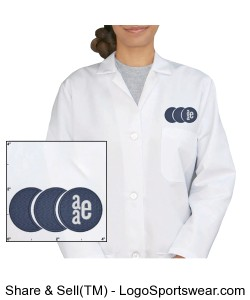 Womens Lab Coat Design Zoom