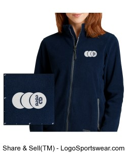 Womens Boundary Fleece Jacket by Charles River Apparel Design Zoom