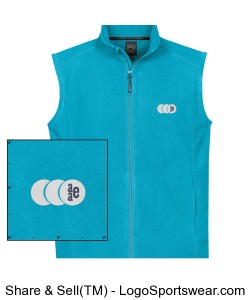Mens Eclipse Fleece Vest Design Zoom