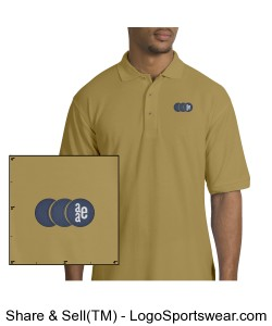 Mens Silk Touch Polo Shirt Design Zoom