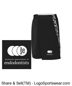 Basketball Shorts - Black Design Zoom