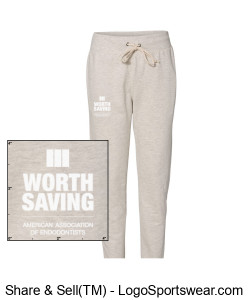Worth Saving - Women's Joggers Design Zoom